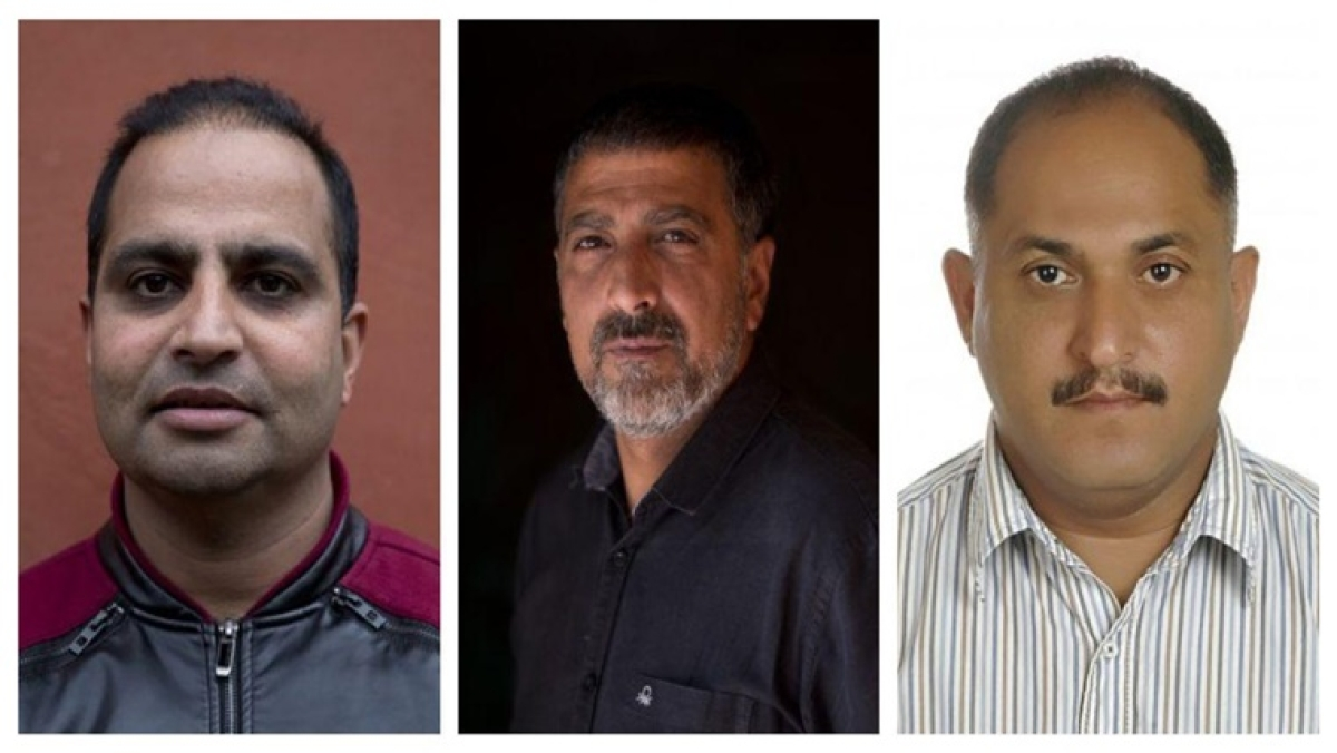 Associated Press photographers Mukhtar Khan, Dar Yasin and Channi Anand