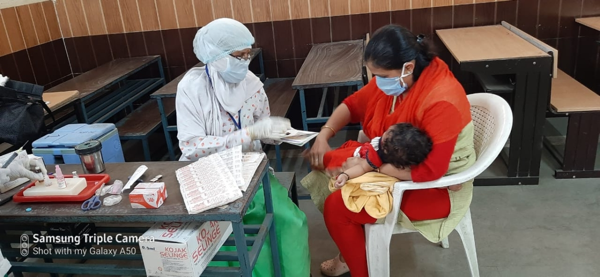 Coronavirus in Indore: Vaccination for children and pregnant women resumed in 'Red Zone' city