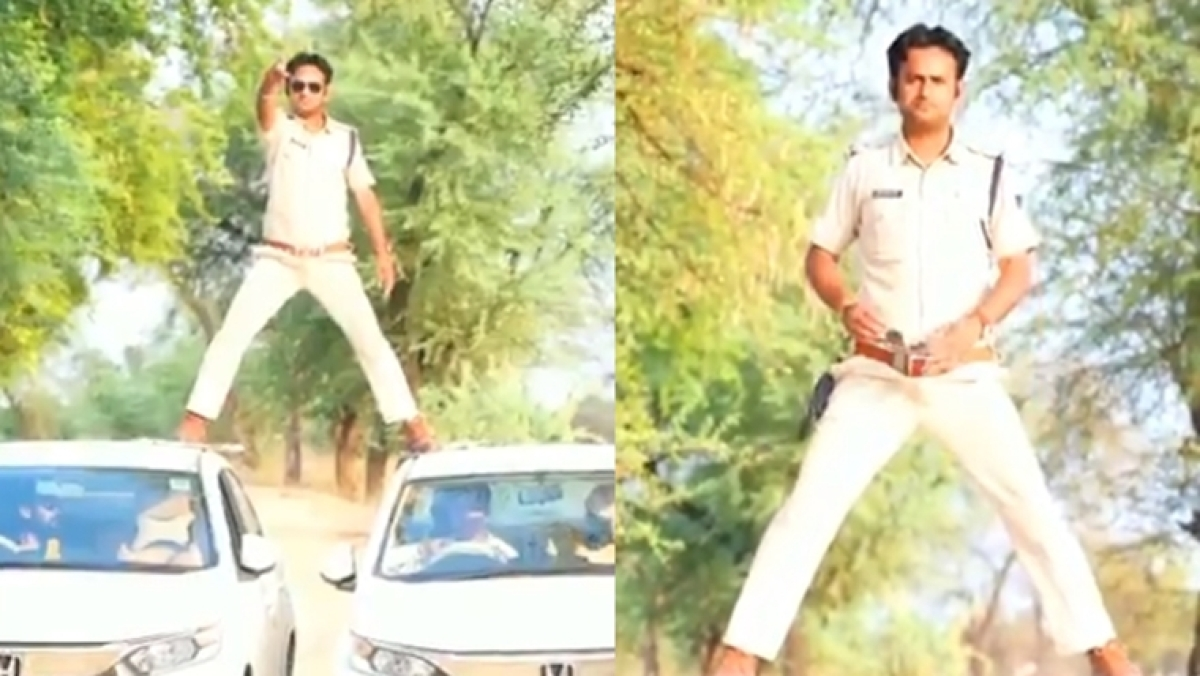 Singham Fail: MP cop slapped with Rs 5,000 fine for copying Ajay Devgn's car stunt amid lockdown