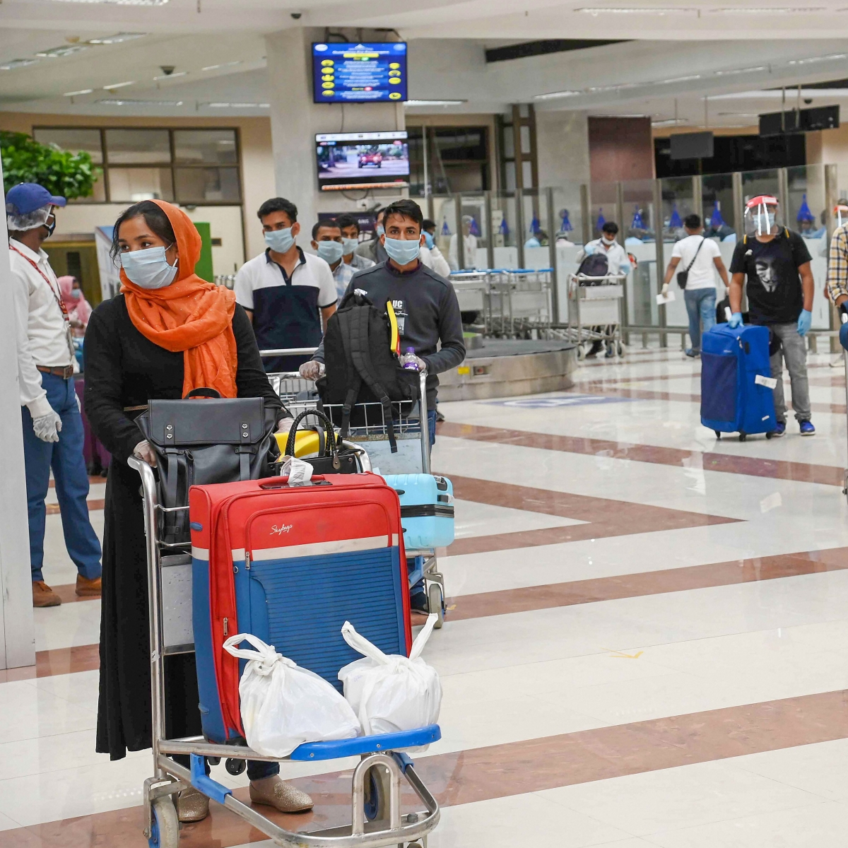 Mumbai: Only boarding pass is needed to reach airport