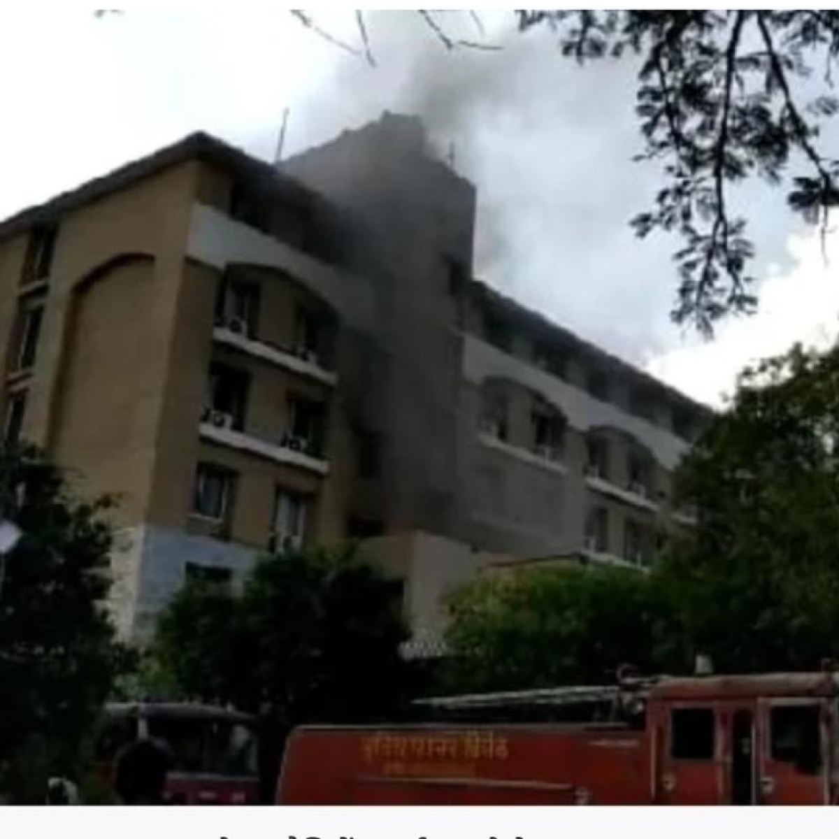 Indore: Fire breaks out at Hotel President Park at Bypass