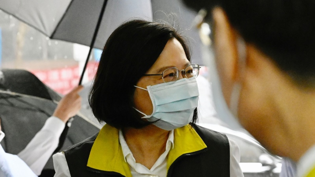 Taiwanese President Tsai Ing-wen