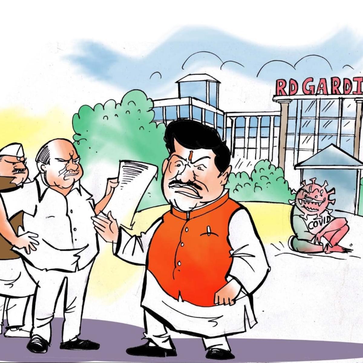 Free Press Expose: BJP wallas shun their own MP Anil Firojia for raking RD Gardi Medical College mess