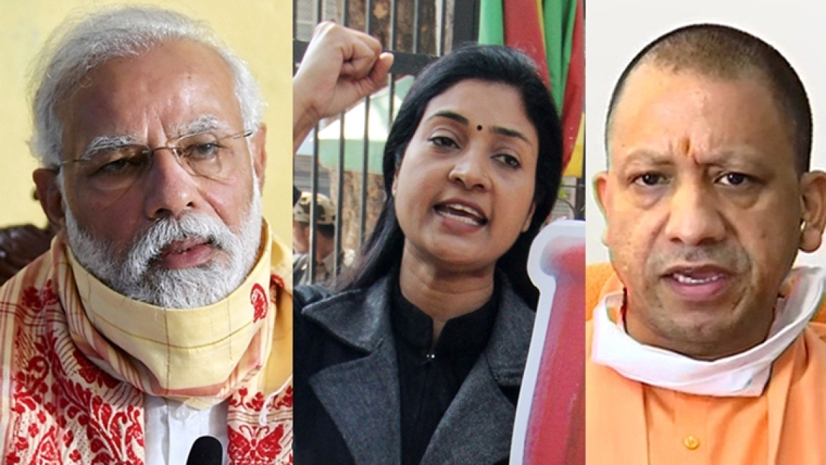 'I spit on your face': Arrest Alka Lamba trends after Congress leader calls PM Modi and UP CM Yogi 'impotent'