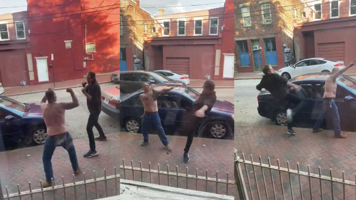 This viral video of two neighbours in a brawl has lit the internet with hilarious jokes
