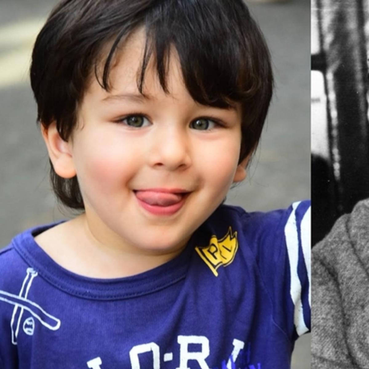 How is Junior Nawab Taimur Ali Khan related to Sanjay Gandhi?
