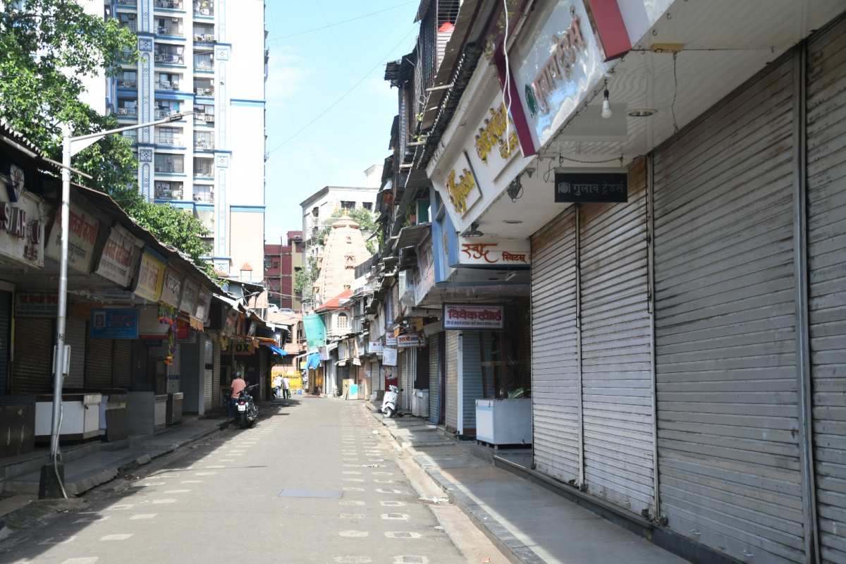 Lalbaugh market shut for five days.