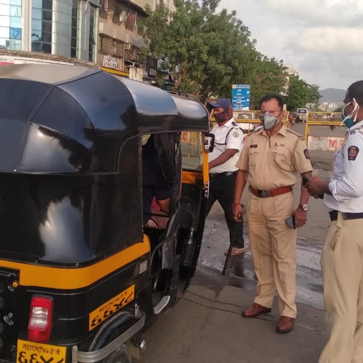 FPJ Impact: Cops crackdown on rogue auto-rickshaw drivers