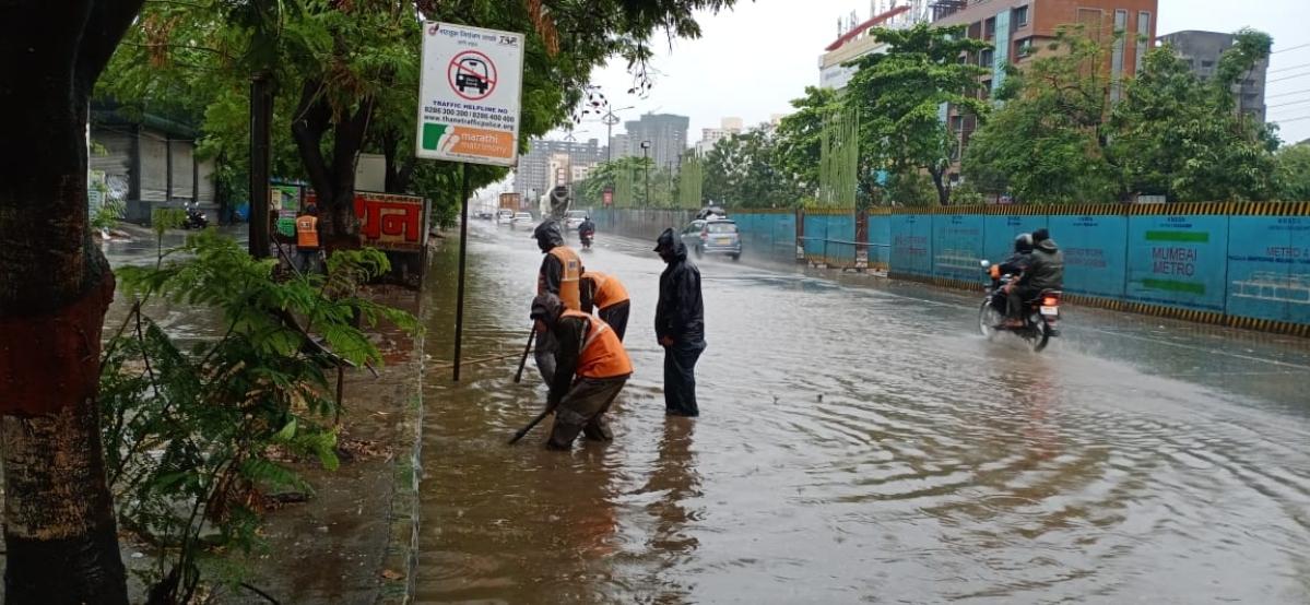 Day after Cyclone Nisrarga, parts of Mumbai, Thane, Virar, Navi Mumbai witness rains, strong winds; follow live updates