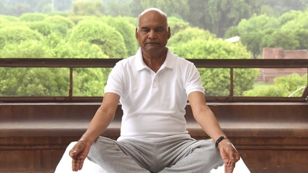 Yoga can help keep body fit amid COVID-19 crisis: President Ram Nath Kovind on International Yoga Day