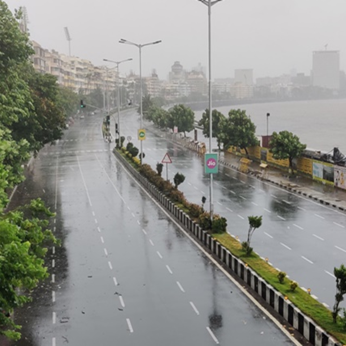 Mumbai spared major damage after Cyclone Nisarga makes landfall, uproots trees