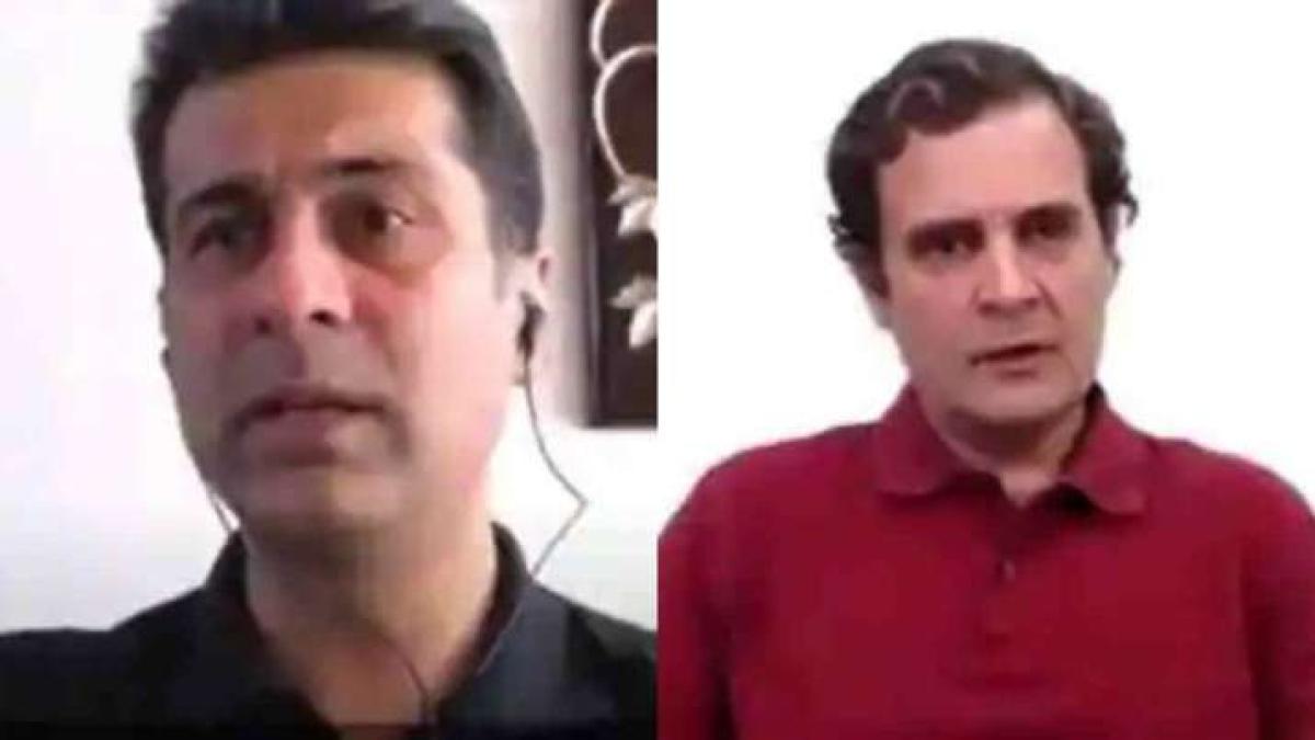 Why was Rajiv Bajaj asked not to speak to Rahul Gandhi