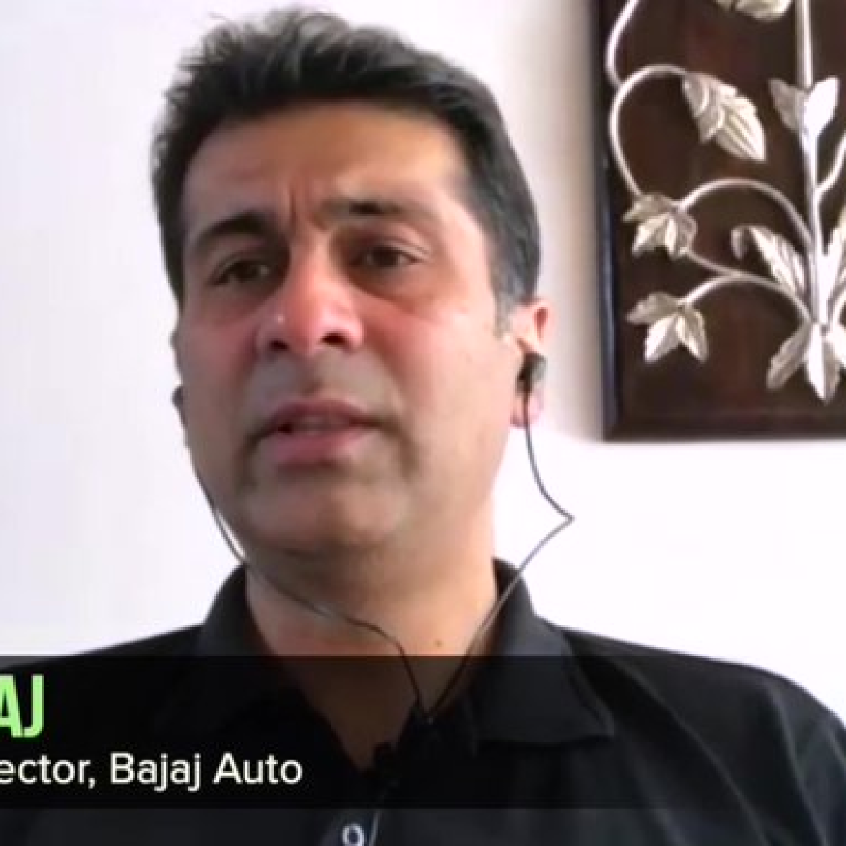 Bajaj Auto MD wants a clear narrative from the top to take the fear of coronavirus out of the people's mind