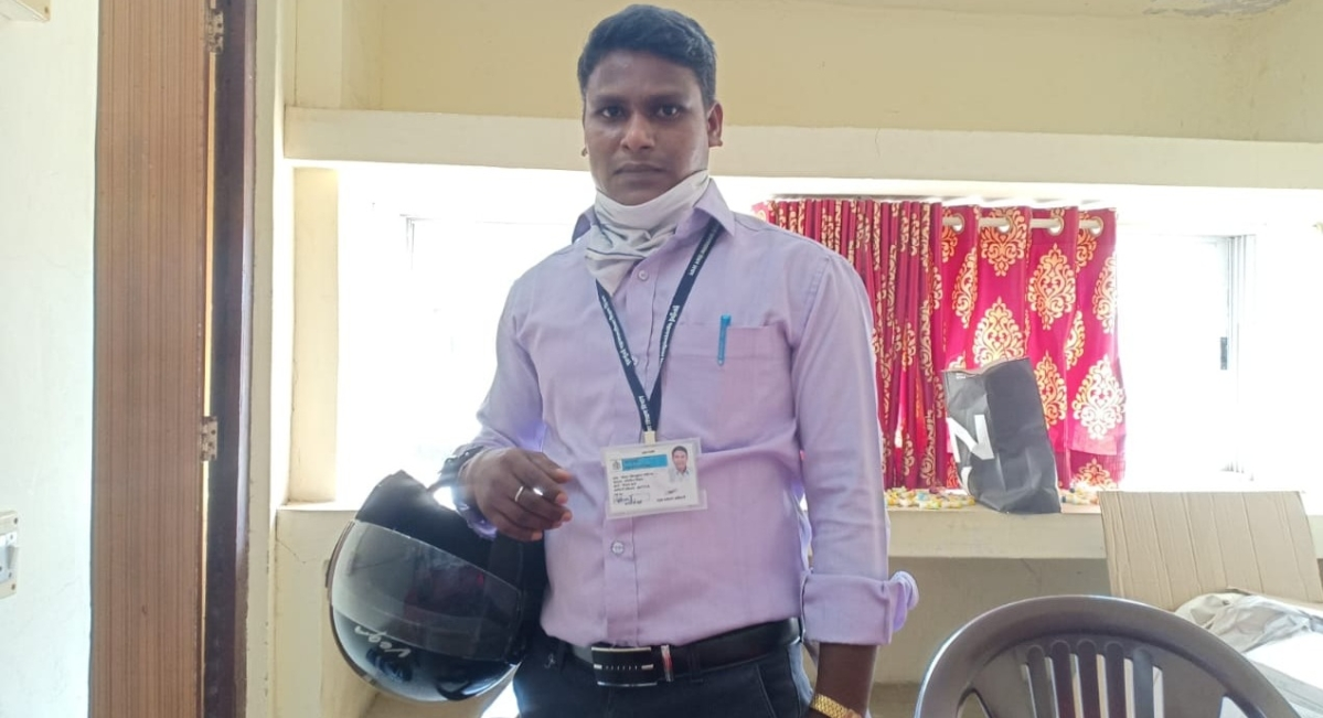BMC teacher travels for 3 days on bike to serve as COVID-19 warrior