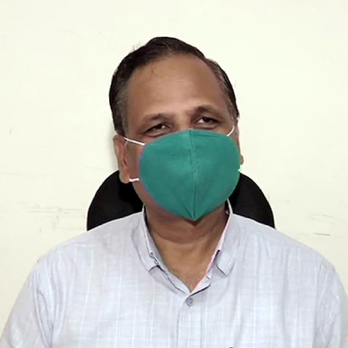 Latest sero survey shows 56.13% people in Delhi have antibodies against COVID-19: Satyendar Jain