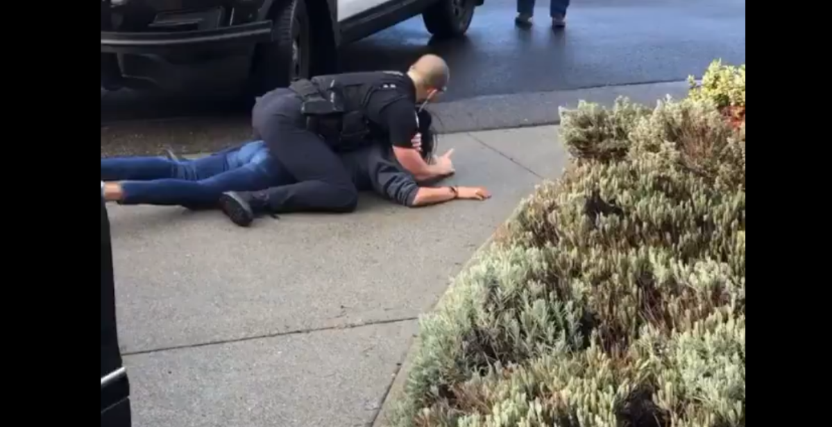 Amid 'Black Lives Matter' protests, video of Bellevue police officer choking a woman goes viral