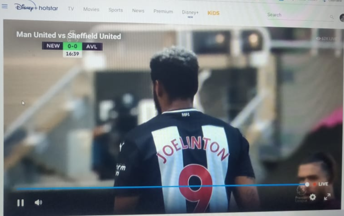 Manchester United fans get furious as Hotstar shows random matches instead of Man Utd vs Sheffield United