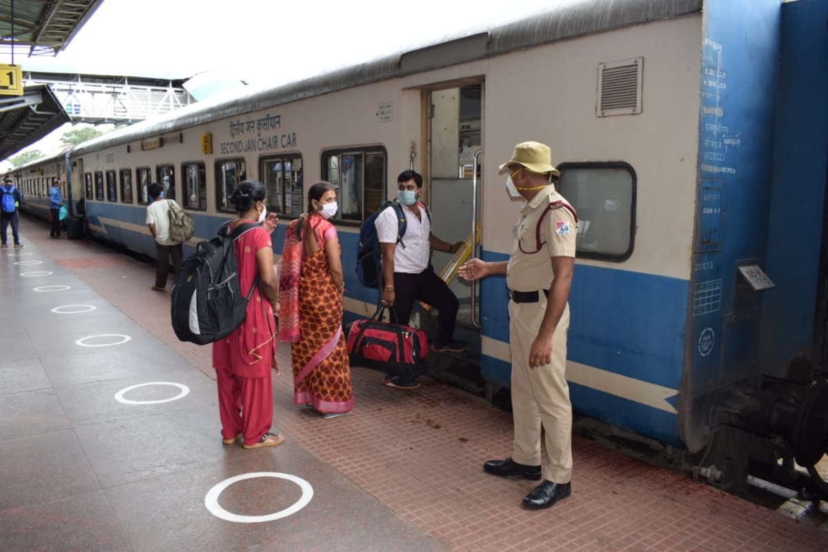 Railways commence special train services