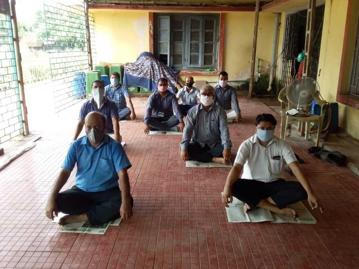South Eastern Railway observes International Day Of Yoga