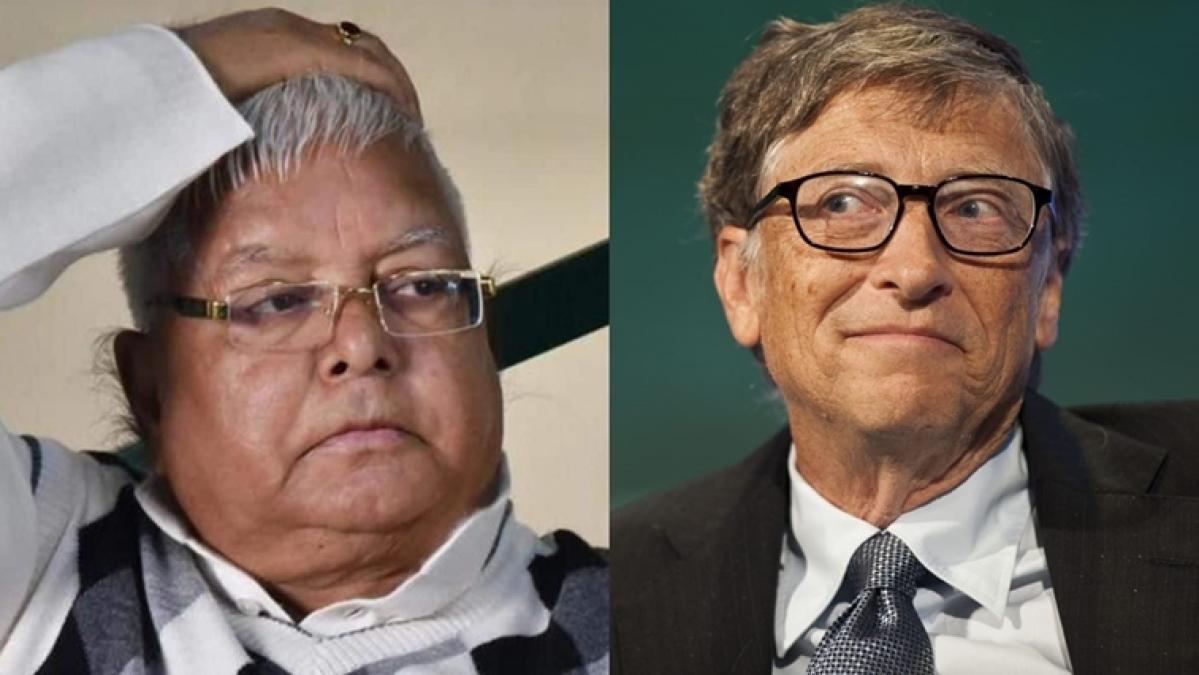 Bill Gates' imaginary letter to Lalu Prasad Yadav after latter applied to Microsoft