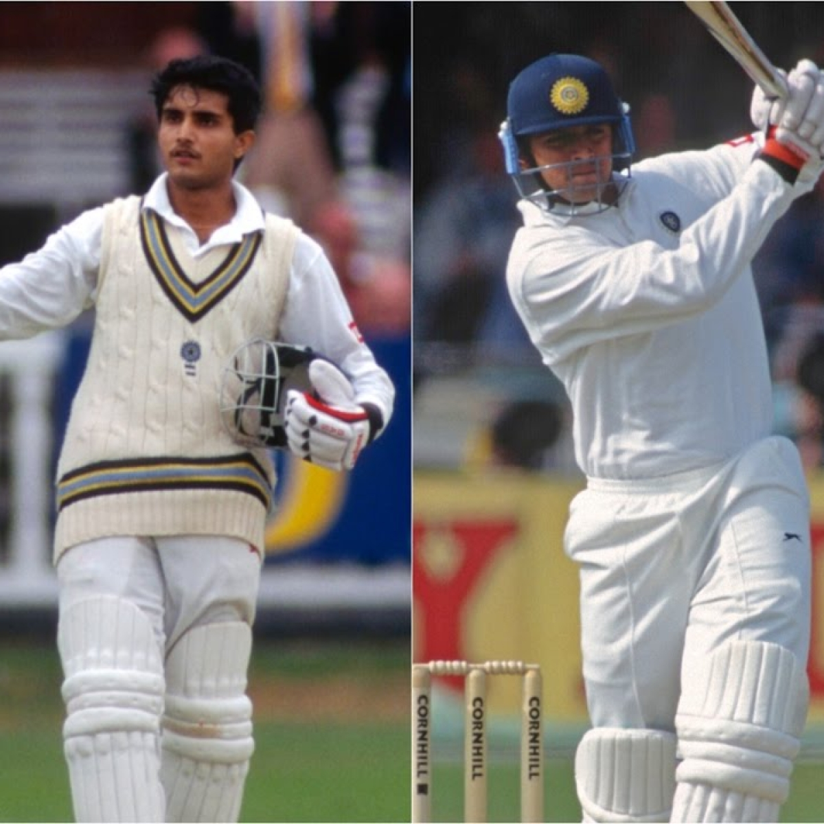 Twitter celebrates 24 years of Sourav Ganguly and Rahul Dravid's legendary Test debuts