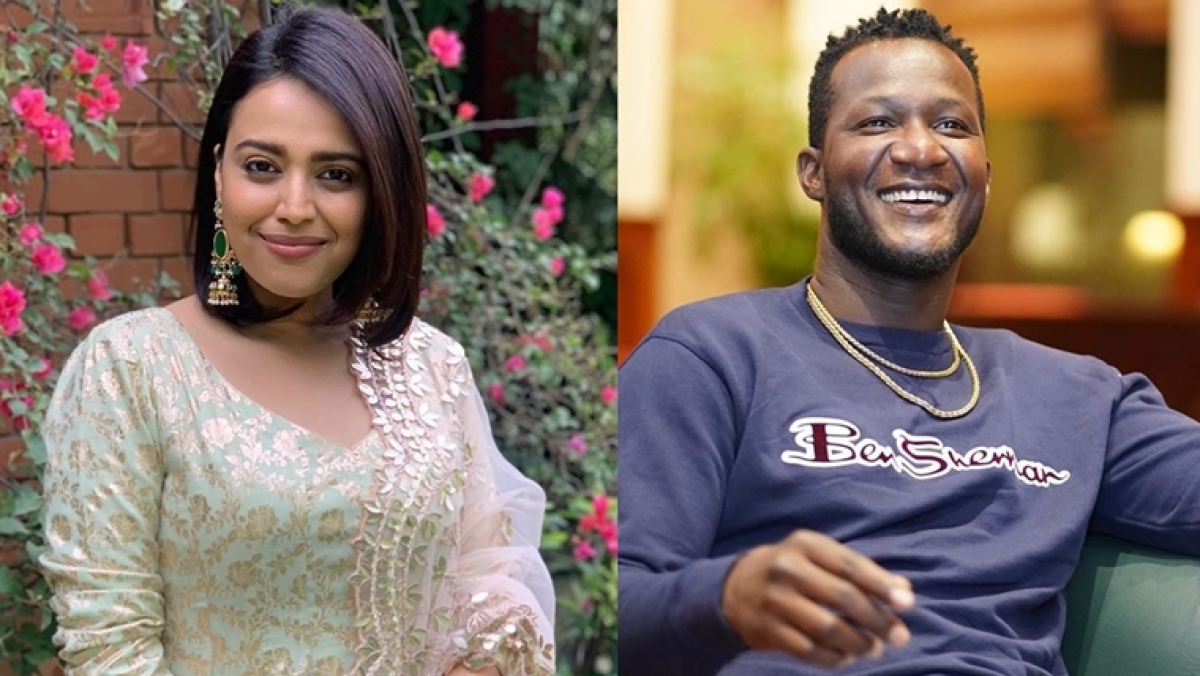 Swara Bhasker asks Daren Sammy what if someone used the 'N' word 'out of love', check out his classy response