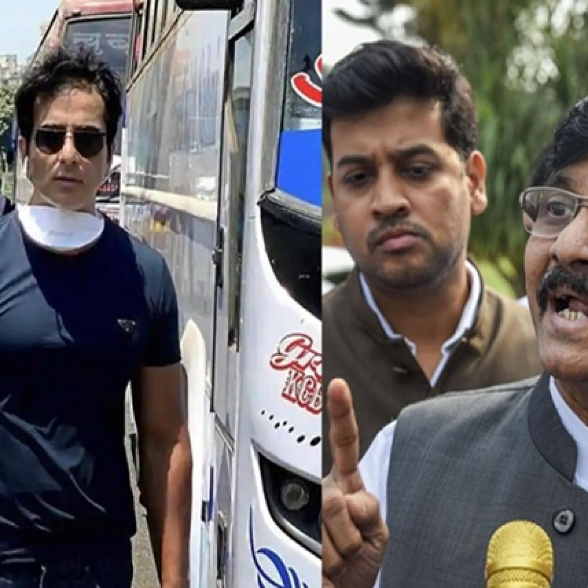 Sanjay Raut mocks 'Mahatma' Sonu Sood in Saamna editorial