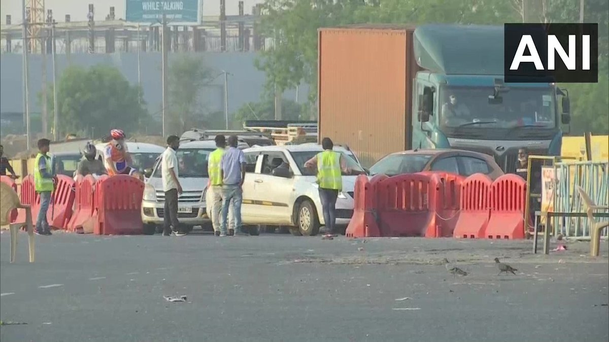 Unlock 1.0: Monday morning witnesses traffic entering New Delhi after border opens up