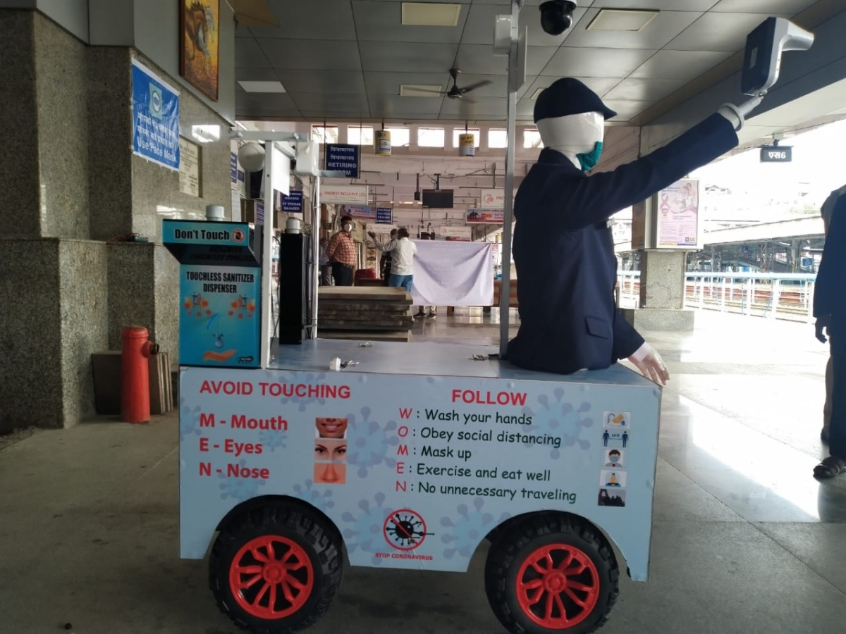 In pics: Check out Robotic Captain Arjun in Pune introduced by Central Railways