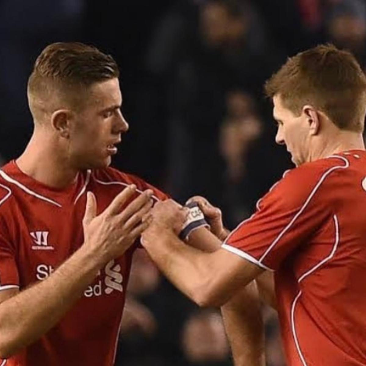 Steven Gerrard pays emotional tribute to Liverpool captain Jordan Henderson after Premier League title win