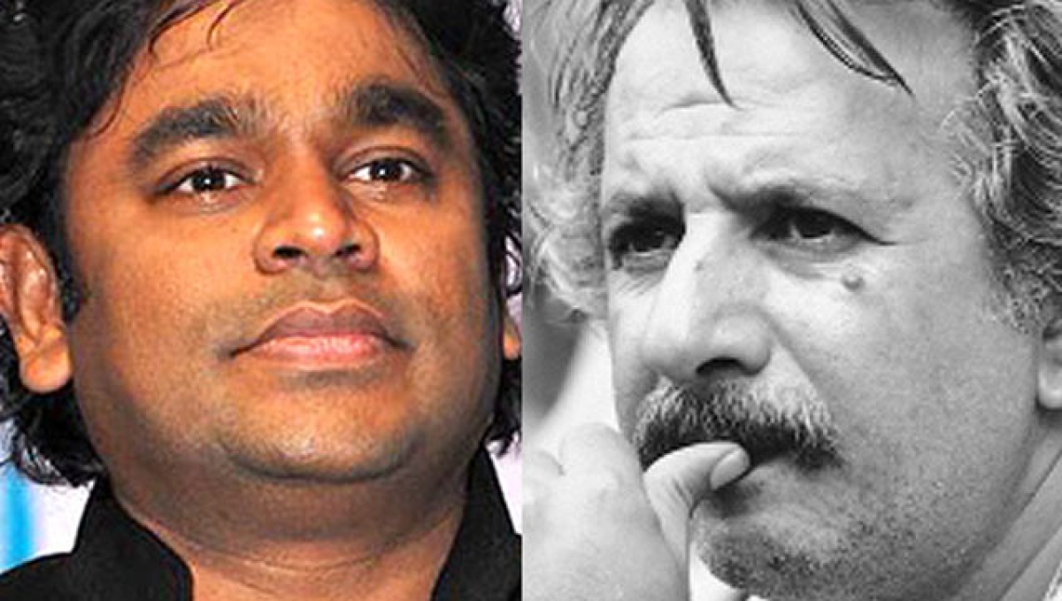 The same group had earlier issued fatwa against music composer A.R. Rahman (L) and renowned Iranian director Majid Majidi for being part of the project