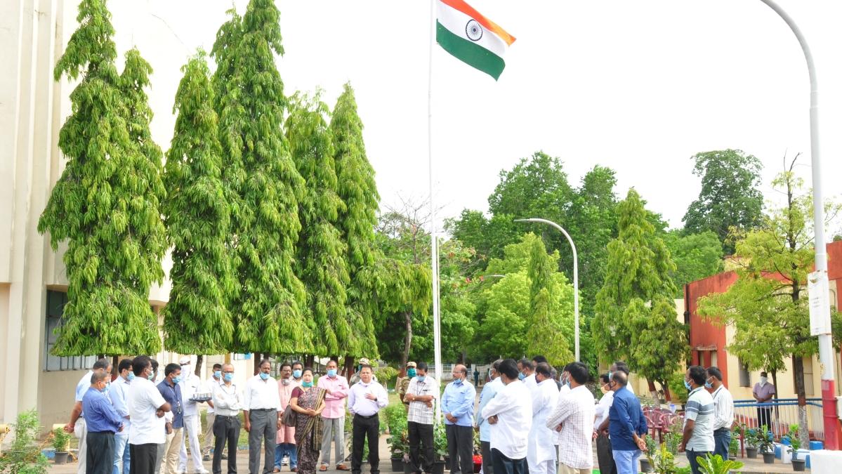 Telangana state formation day celebrated at NTPC-Ramagundam