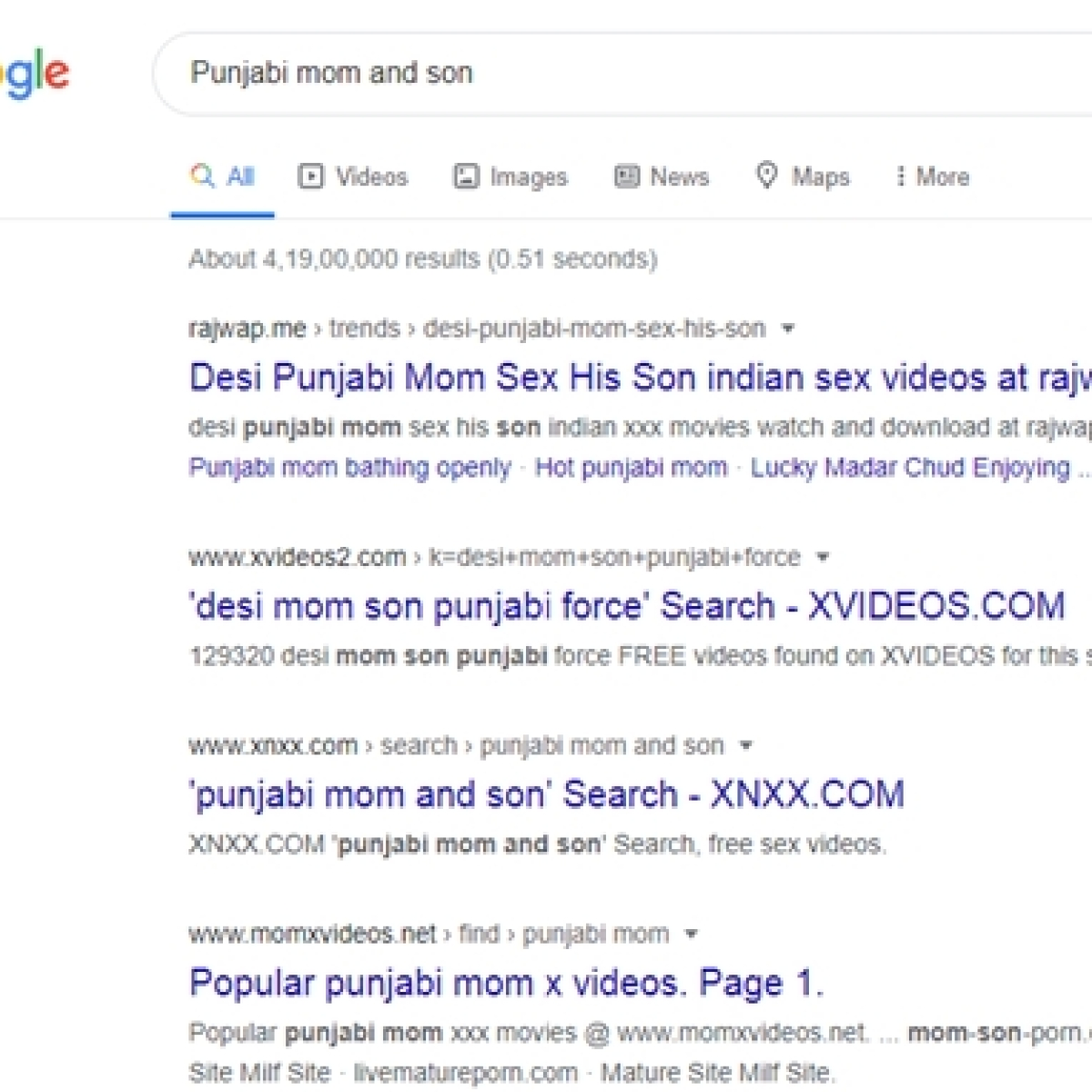 From Punjabi to Bihari mom and son: Bizarre Google search leads to porn sites