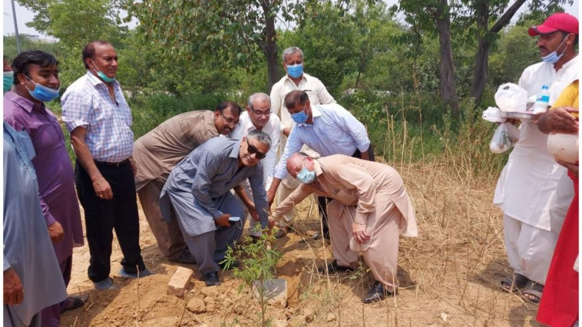The ground-breaking ceremony was held in Islamabad's H-9 sector area for the construction of the first proper Hindu temple of the capital.