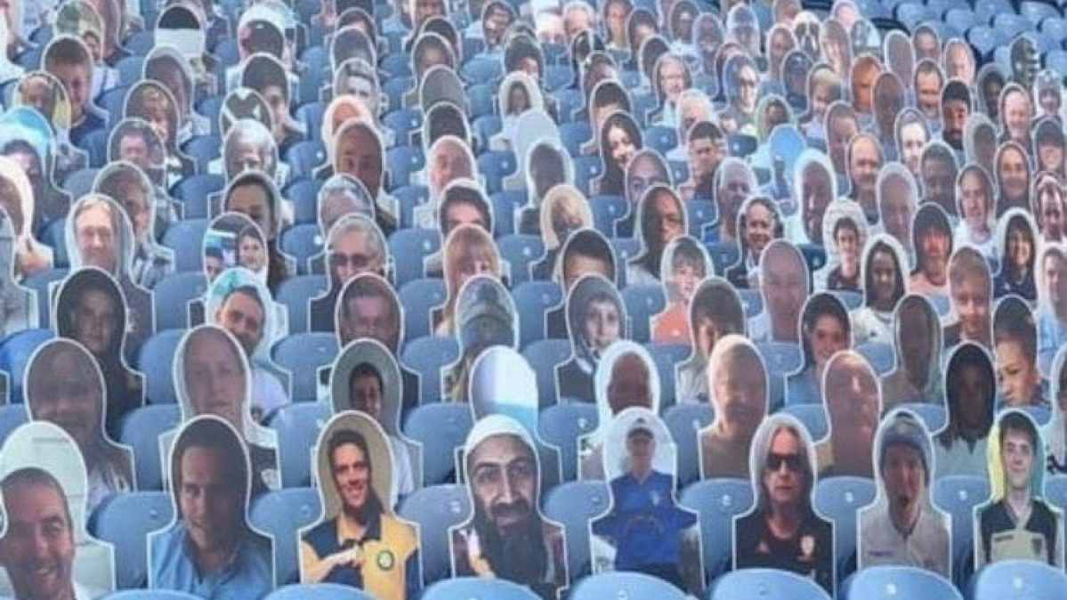 Premier League: Leeds United remove Osama bin Laden cut-out from its stands at Elland Road