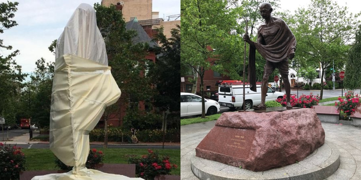 'Where do you draw the line?': Trump's spokesperson expresses outrage over defacement of Gandhi statue in the US