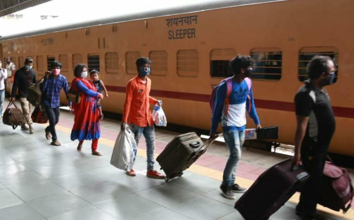 More than 18.23 lakh migrant labourers transported in Western Railway's 1214 Shramik Specials