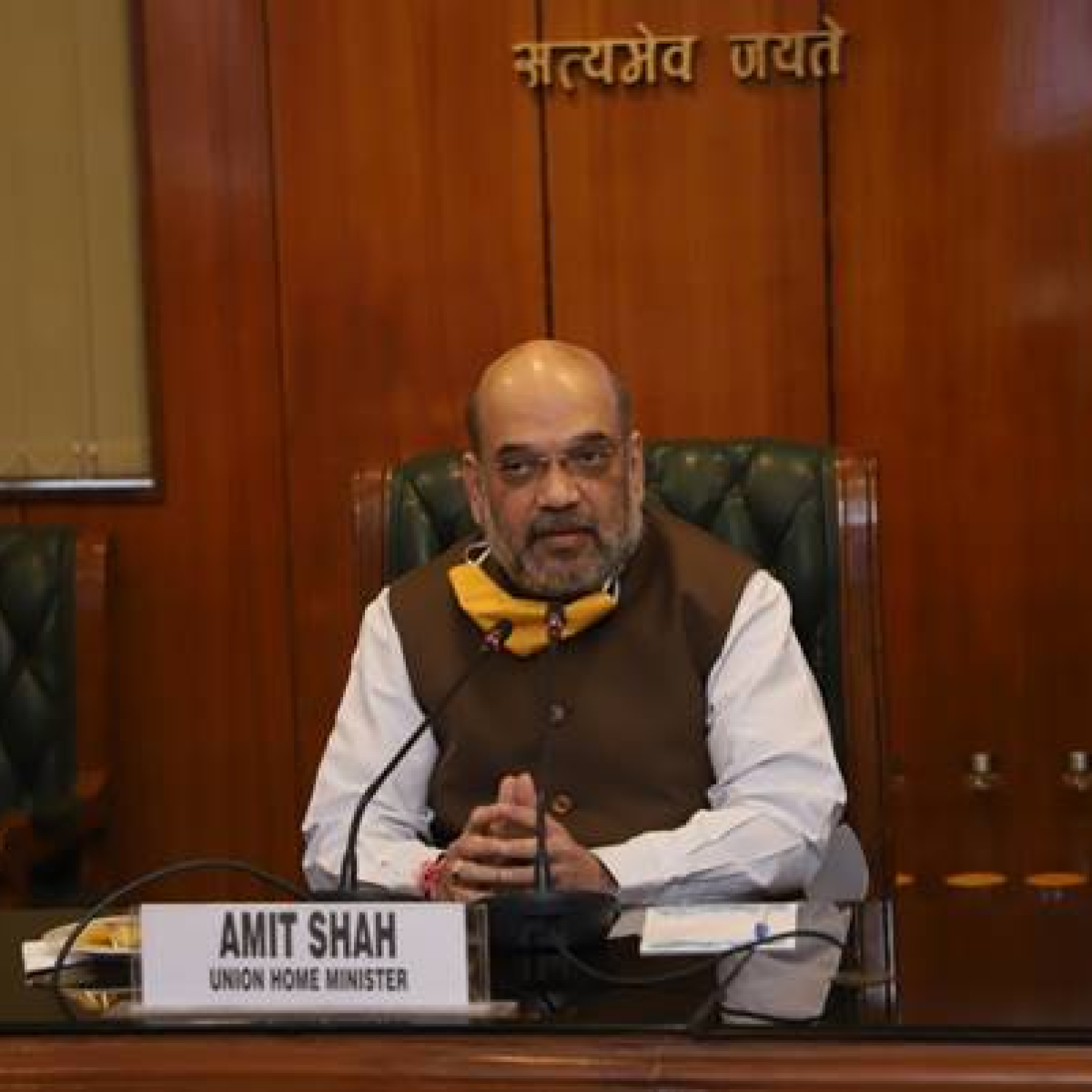 BJP MPs meet Amit Shah over death of party workers, COVID-19 situation in West Bengal