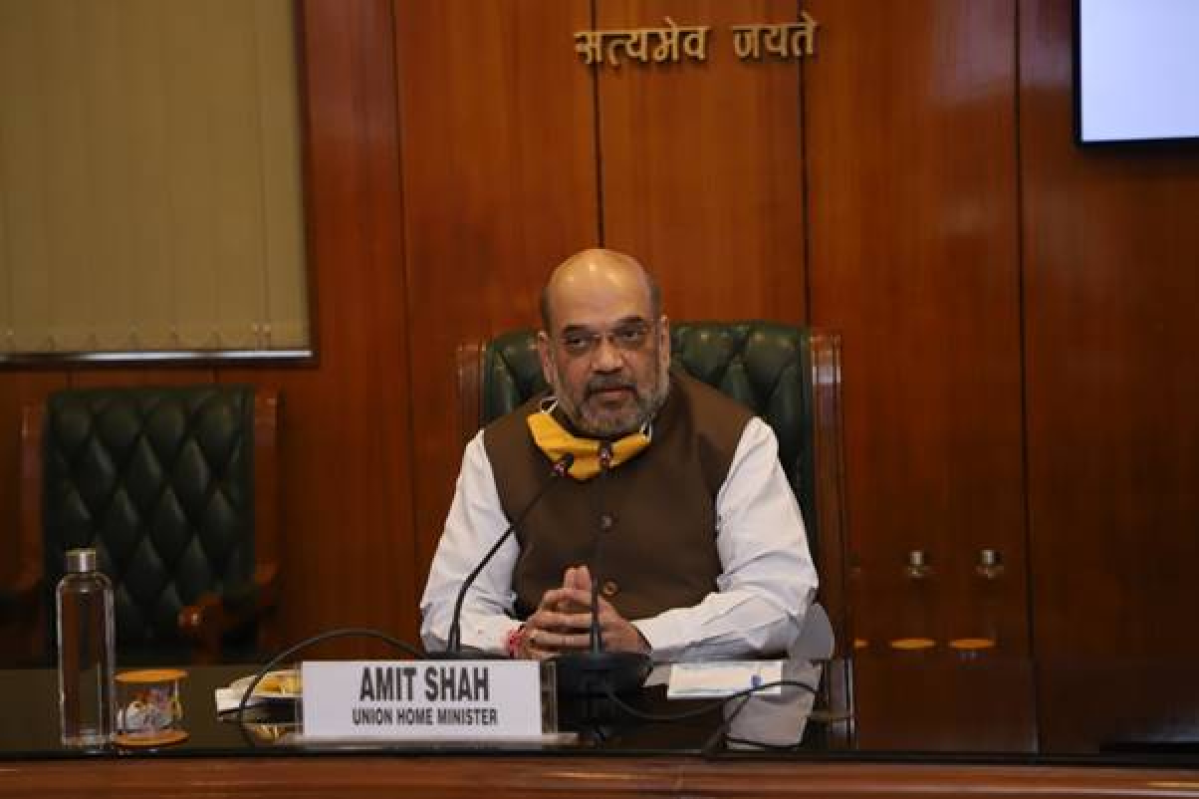 Amit Shah visits Delhi's LNJP Hospital, holds meeting with officials to review coronavirus preparedness