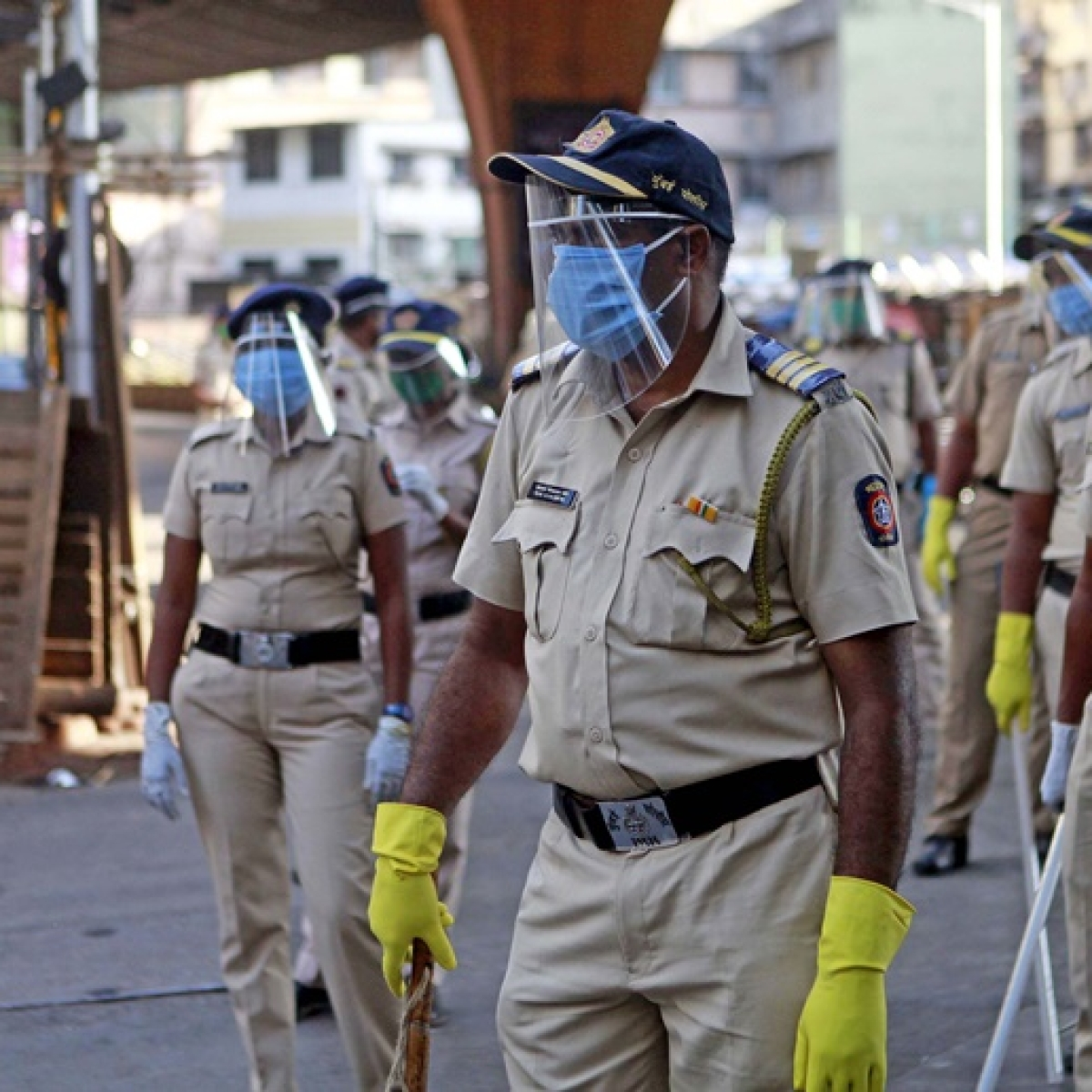Maharashtra police report 55 new COVID-19 cases, tally at 4,103