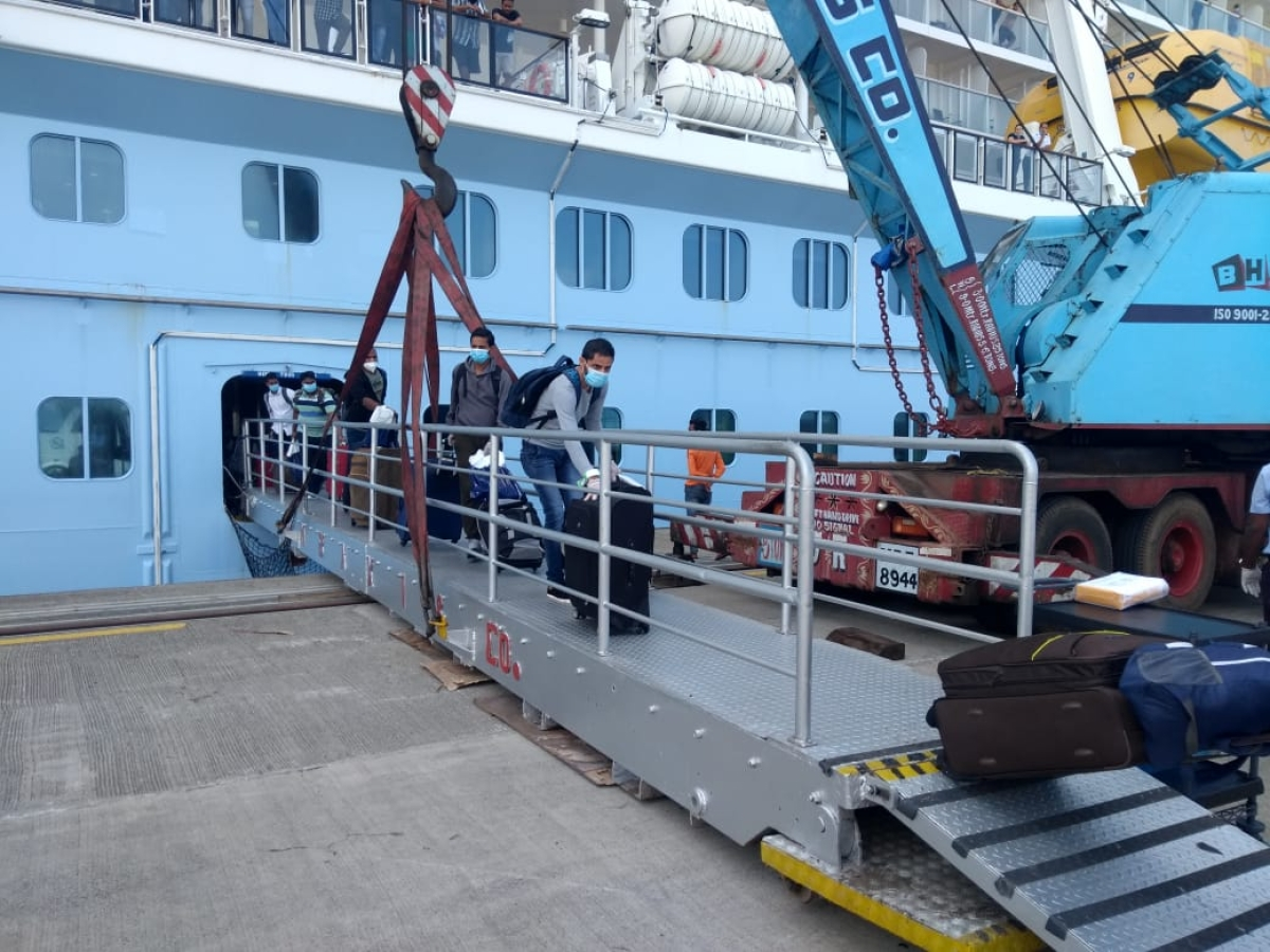 MPT enables repatriation of Indian crew from cruise ships