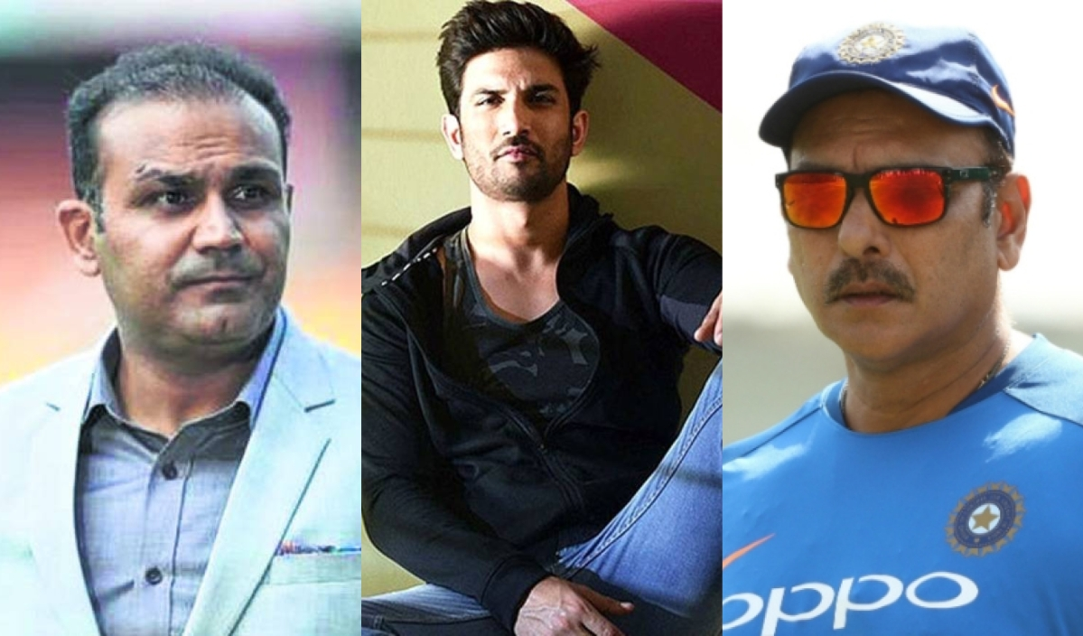 From Sehwag to Shastri: Cricketing world mourns Sushant Singh Rajput who played MS Dhoni