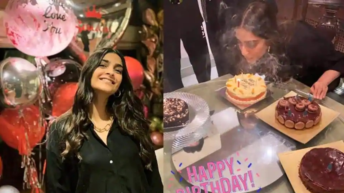 Inside pictures: Sonam Kapoor Ahuja's 35th birthday celebrations
