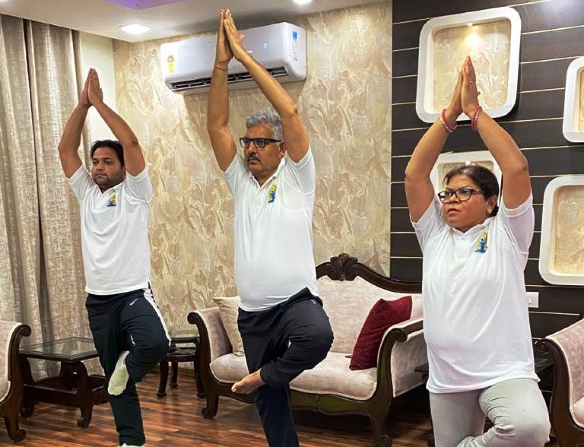NHPC observes 6th International Day of Yoga through online participation in nationwide Common Yoga Protocol demonstration