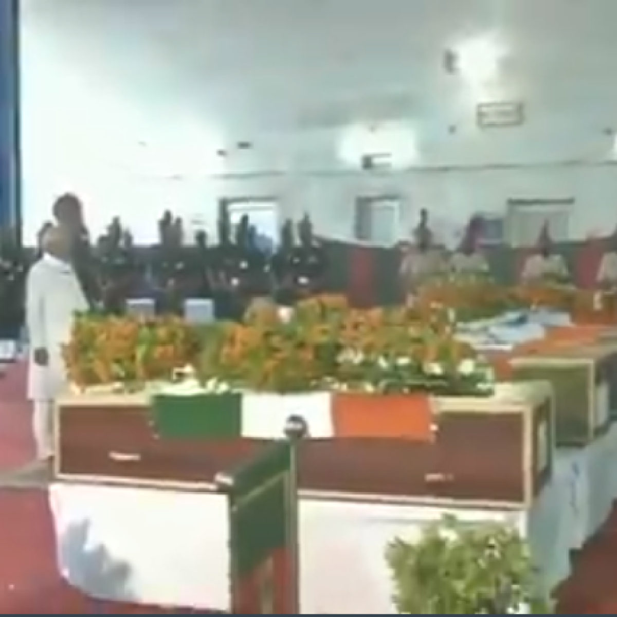 Nitish Kumar leads Bihar in paying tribute to jawans from the state