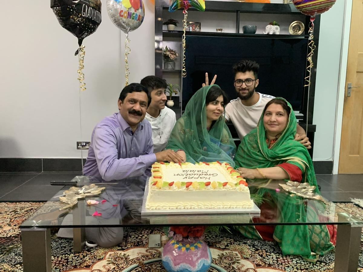 'Hard to express my joy and gratitude', says Malala Yousafzai after graduating from Oxford University