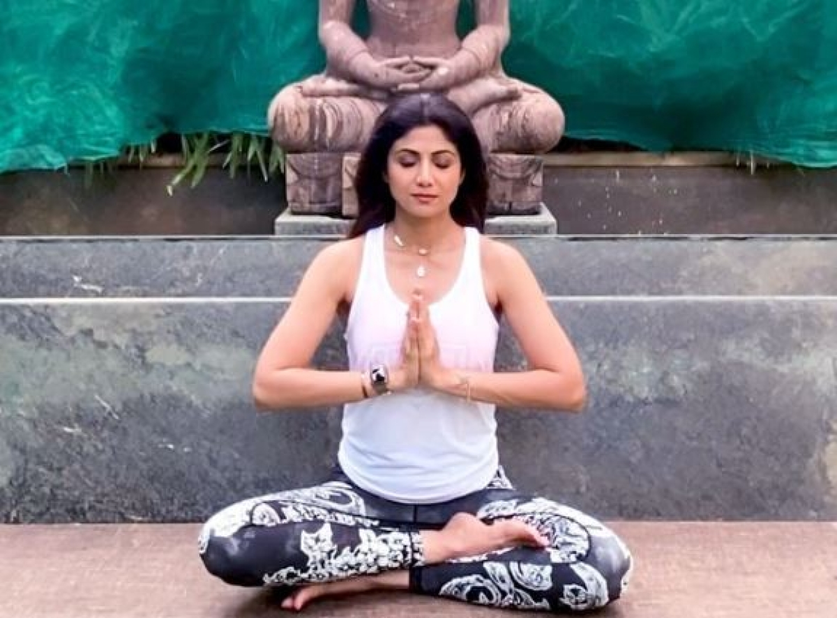 International Yoga Day: Bollywood celebrities share yoga poses on social media