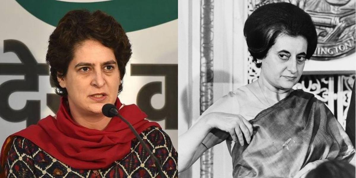 'Is that your claim to fame?': Twitter ridicules Priyanka Gandhi Vadra's 'Main Indira Gandhi ki poti hun' line