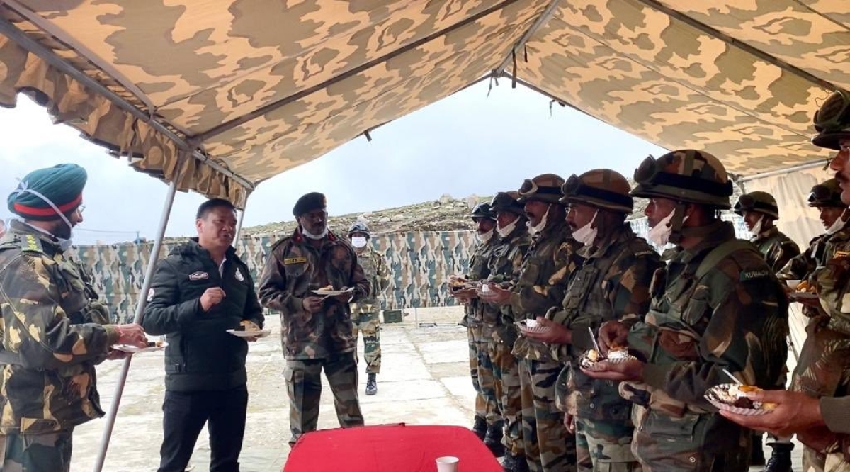 India-China face-off: Arunachal CM Pema Khandu taunts Beijing with pictures along 'Indo-Tibet' border