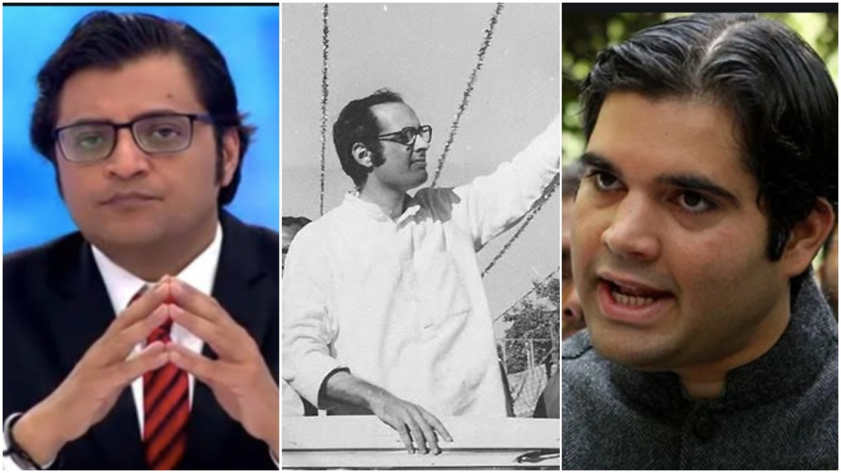 Netizens question Varun Gandhi's silence after Arnab Goswami calls Sanjay Gandhi 'useless' on live TV